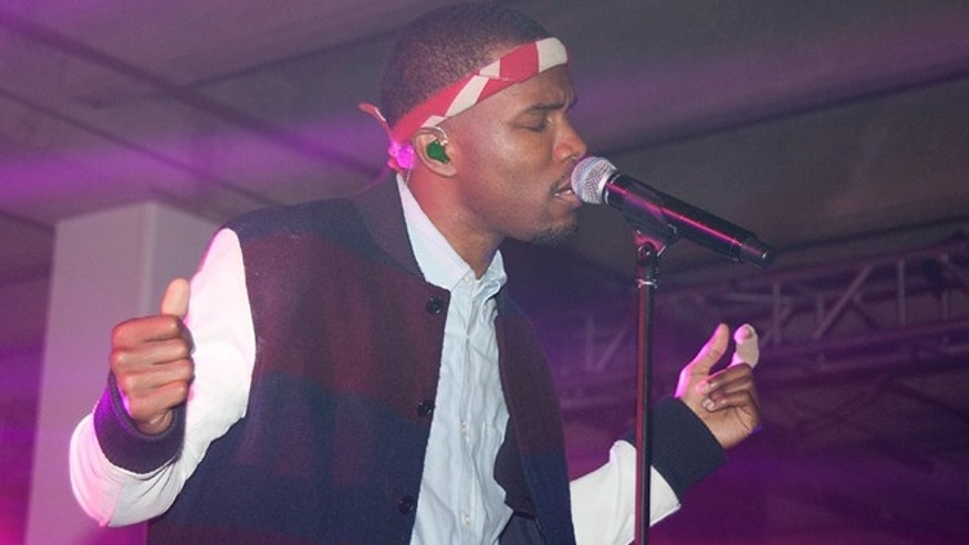 Feb. 8, 2013: Singer Frank Ocean performs at Levi's An Evening with Frank Ocean in Los Angeles.
