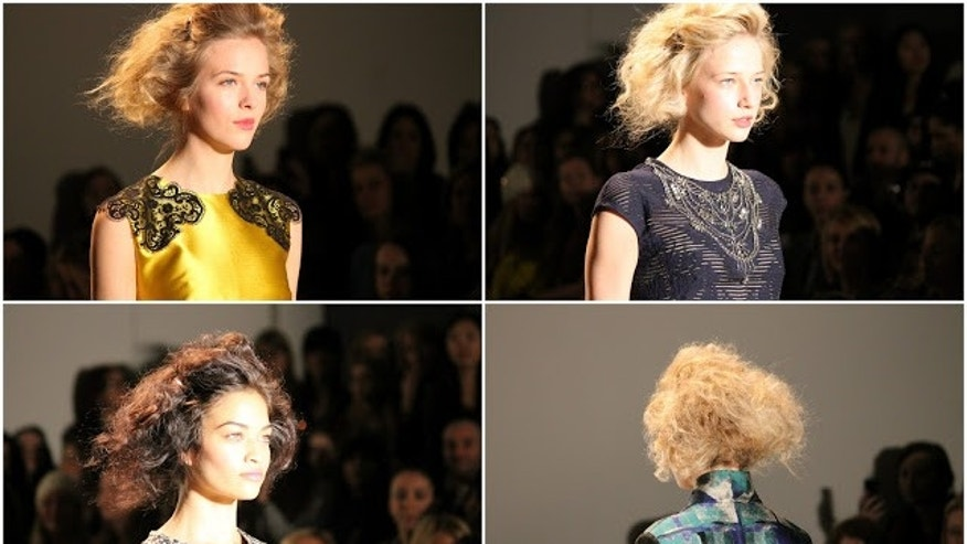 Lela Rose show at Fashion Week.