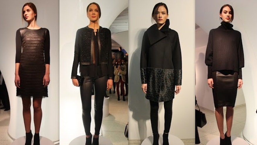 Elie Tahari collection at New York Fashion Week.