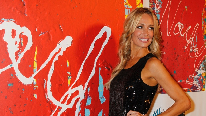 Taylor Armstrong, from the Bravo reality TV series 'The Real Housewives of Beverly Hills' is shown on Oct. 21, 2010.