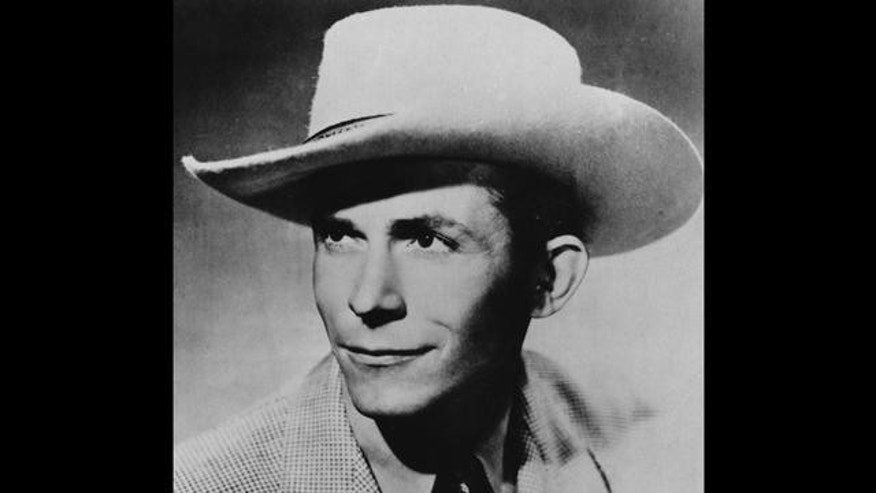 This is an undated file photo of Country and Western singer and guitarist Hank Williams. He was born in Georgiana, Al., in 1923 as Hiram King Williams, and he died of a heart attack in 1953.  (AP Photo/FILE)