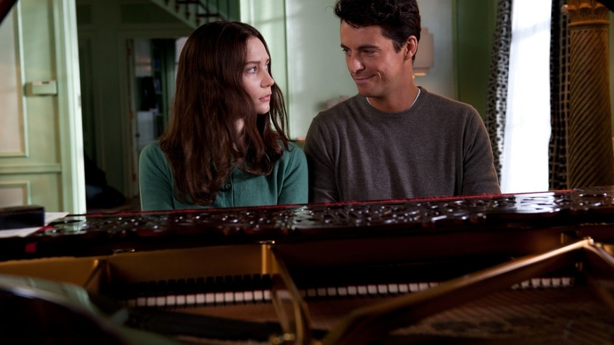 "This film image released by Fox Searchlight Pictures shows Mia Wasikowska, left, and Matthew Goode in a scene from ""Stoker."""