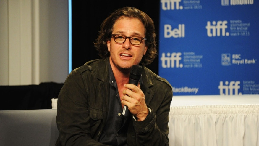 "TORONTO, ON - SEPTEMBER 09:  Director Davis Guggenheim speaks onstage at ""From The Sky Down"" Press Conference during 2011 Toronto International Film Festival on September 9, 2011 in Toronto, Canada.  (Photo by Jason Merritt/Getty Images)"
