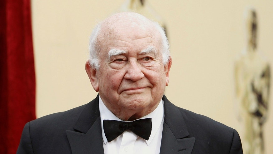 Actor Ed Asner arrives at the 82nd Academy Awards in Hollywood, March 7, 2010.