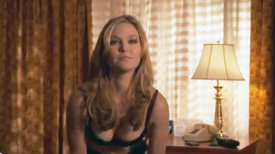 "Julia Stiles in ""Blue."""