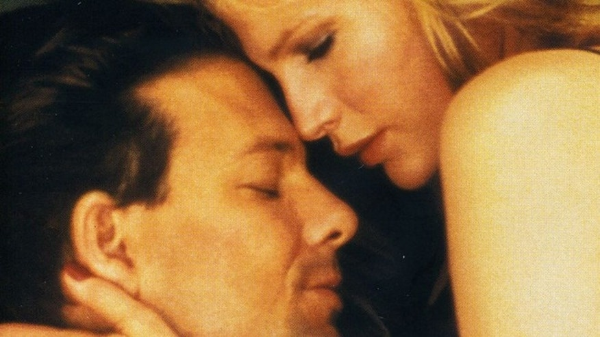Mickey Rourke and Kim Basinger in '9 1/2 Weeks.'