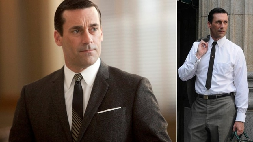 "Jon Hamm plays Don Draper on ""Mad Men."""