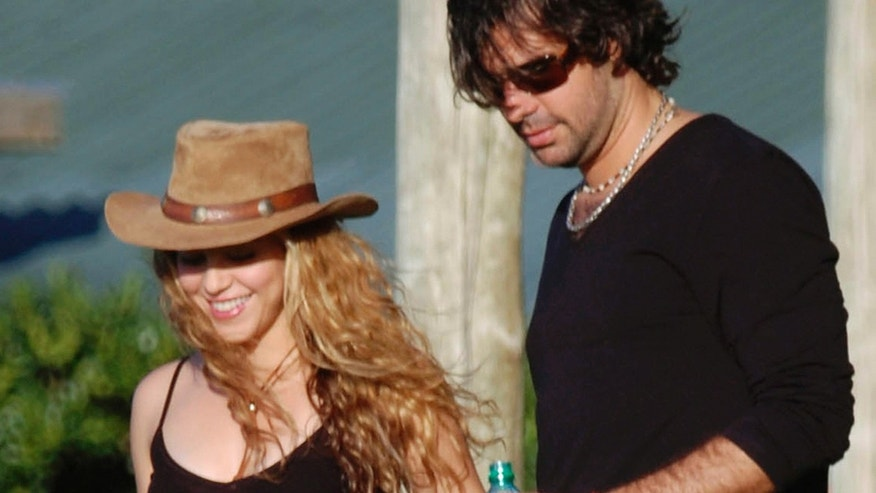 Shakira and Antonio De la Rúa in happier times.