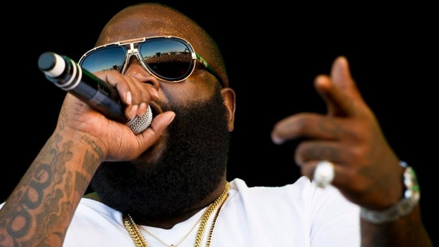 July 7, 2012: This file photo shows rapper Rick Ross performing during the OpenAir music festival in Frauenfeld, Switzerland.