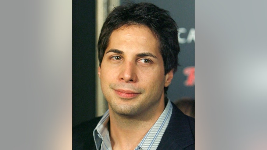 Joe Francis arrives at the JT-TV launch party in Los Angeles on Feb. 9, 2007. (AP Photo/Matt Sayles)