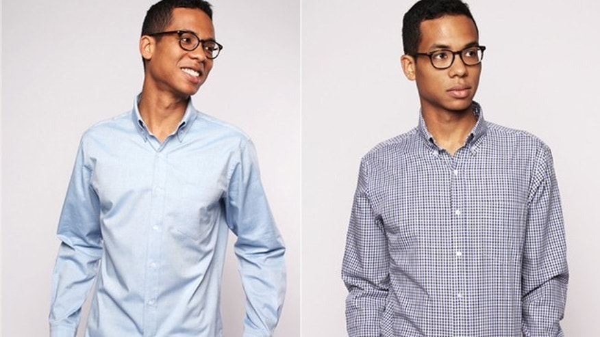 Man creates 100-day-wear business casual shirt you (almost) never ...