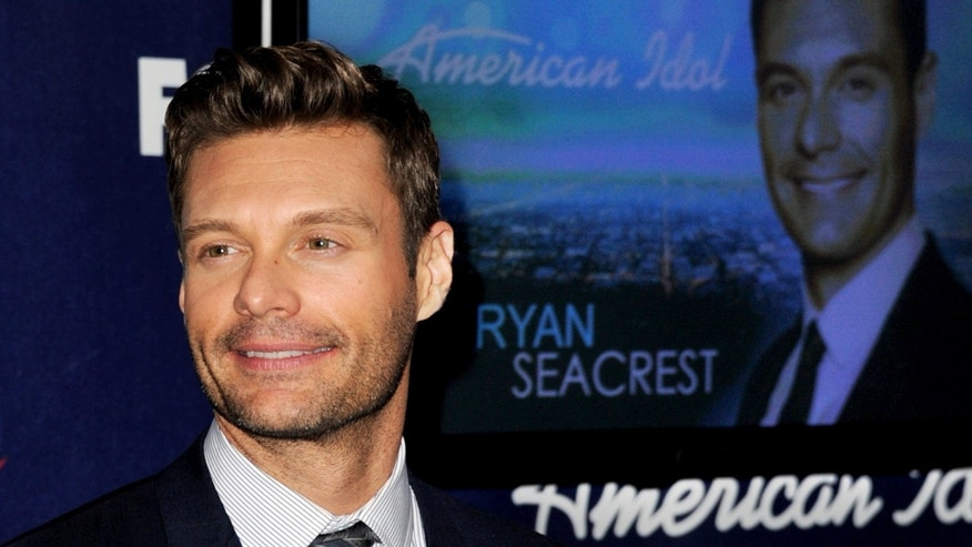 American Idol Host Ryan Seacrest  (Photo by Kevin Winter/Getty Images)