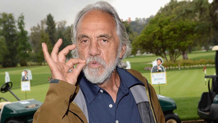 Actor/comedian Tommy Chong attends The 6th Annual George Lopez Celebrity Golf Classic To Benefit The Lopez Foundation at Lakeside Golf Club on May 6, 2013 in Burbank, California.  (Photo by Michael Buckner/Getty Images for The Lopez Foundation)