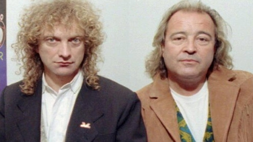 Lou Gramm, left, and Mick Jones of Foreigner.