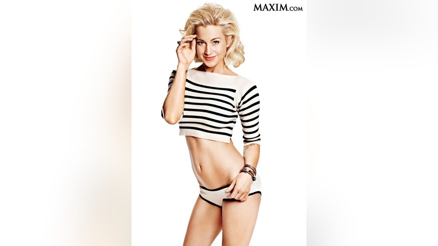 Kellie Pickler poses for Maxim.