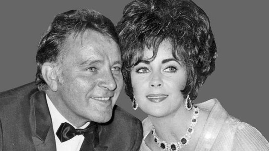 Richard Burton and Elizabeth Taylor, as husband and wife in 1967.