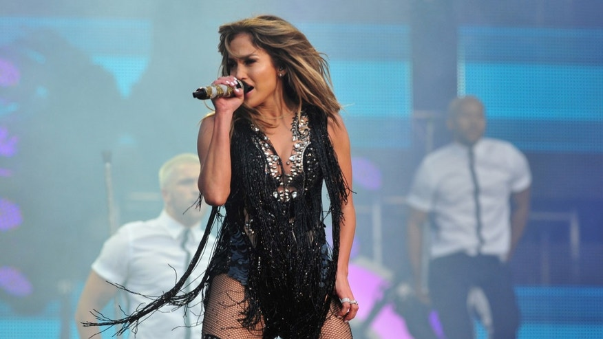 Jennifer Lopez performs at The Sound of Change Live at Twickenham Stadium in London on Saturday, June 1st, 2013. (Photo by Jon Furniss/Invision/AP Images)