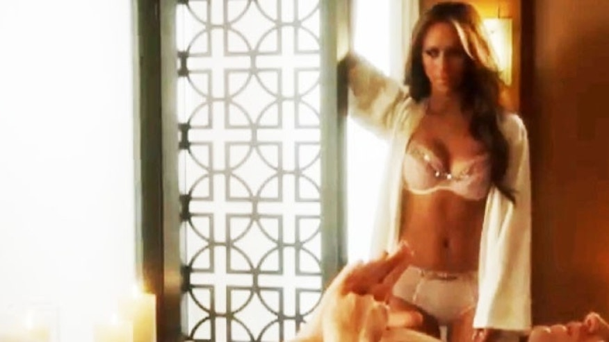 A typical lingerie-heavy scene from 'The Client List.'