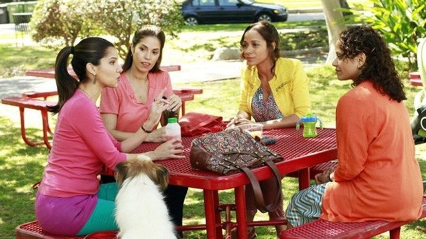 Roselyn Sanchez, Ana Ortiz, Dania Ramirez and Judy Reyes star in the all-new Lifetime drama, Devious Maids, premiering Sunday, June 23, at 10pm ET/PT on Lifetime_Photo by Guy D'Alema_Copyright 2011