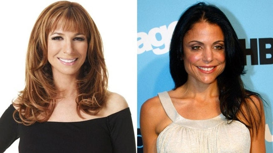 Jill Zarin, left, and Bethenny Frankel, right.