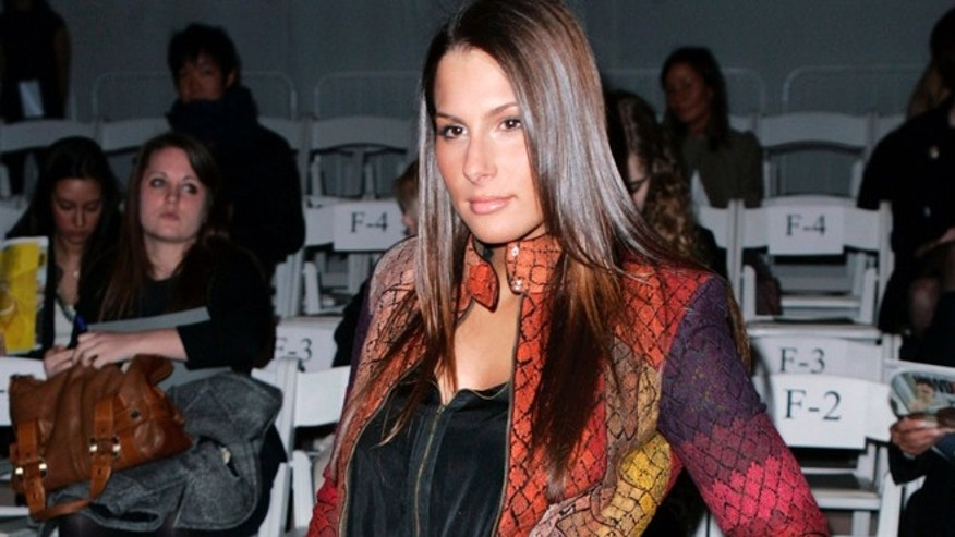 Ashley Alexandra Dupre, involved in the case that resulted in the resignation of New York Governor Elliott Spitzer, attends the Yigal Azrouel collection show at the New York Fashion Week, February 13, 2009.