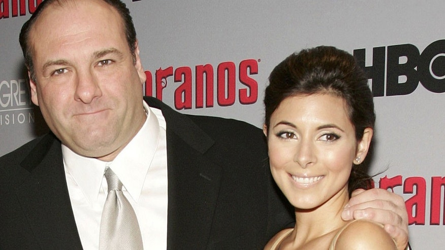 James Gandolfini and Jamie-Lynn Sigler (Photo by Evan Agostini/Getty Images)