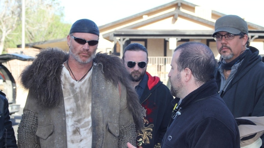 "Brian Bosworth appears in ""Revelation Road 2."""