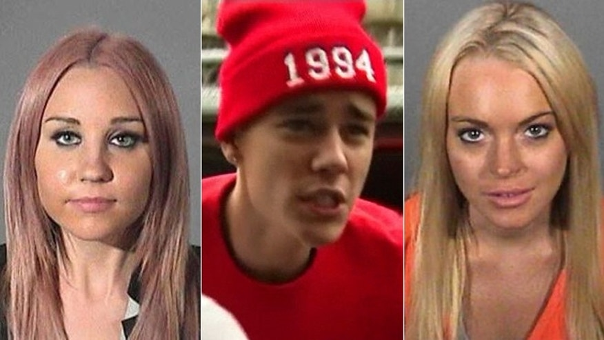 Amanda Bynes, Justin Bieber and Lindsay Lohan have all had issues behind the wheel.