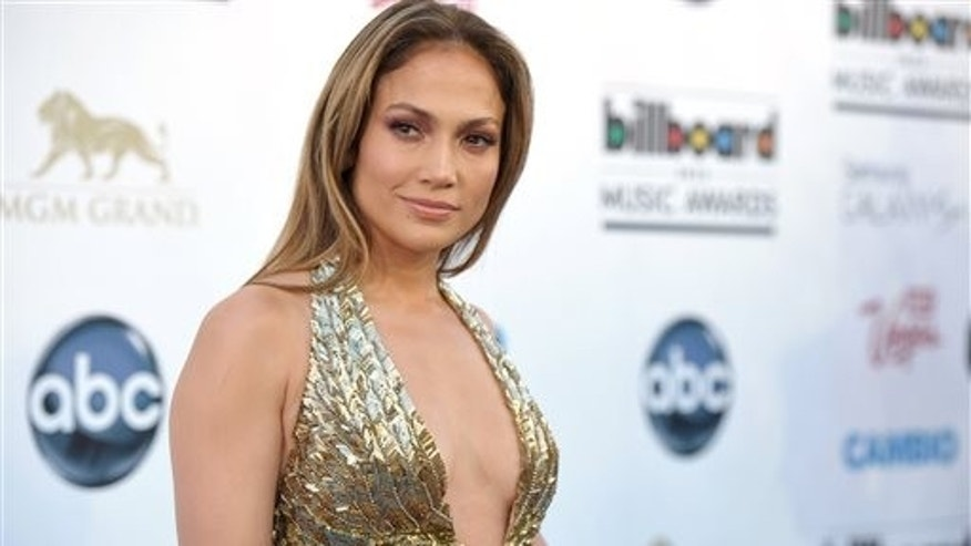 Jennifer Lopez arrives at the Billboard Music Awards at the MGM Grand Garden Arena on Sunday, May 19, 2013 in Las Vegas. (Photo by John Shearer/Invision/AP)