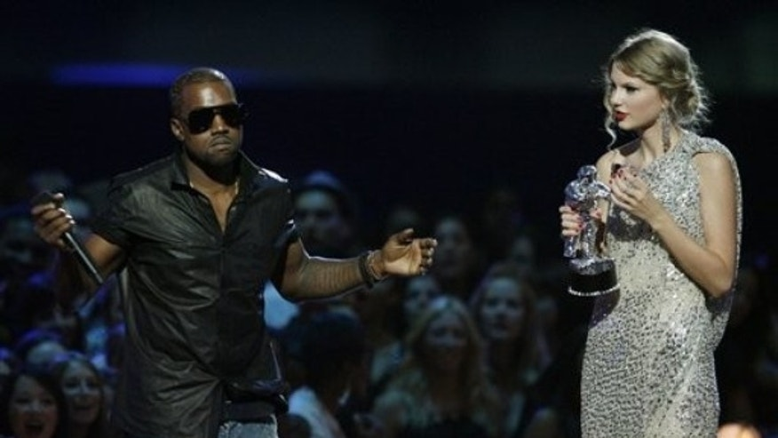 Kanye West was a jerk to Taylor Swift in 2009, but came back with a great album in 2010. (AP)