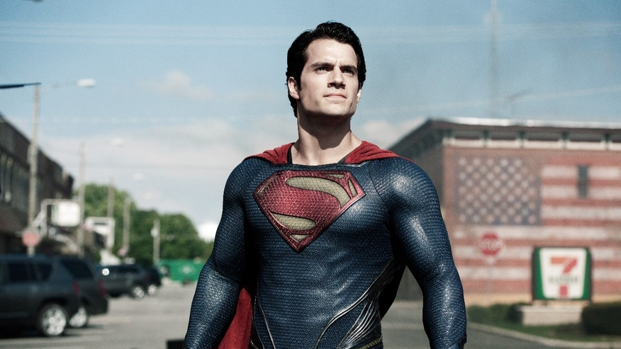 "This film publicity image released by Warner Bros. Pictures shows Henry Cavill as Superman in ""Man of Steel."" (AP Photo/Warner Bros. Pictures, Clay Enos, File)"