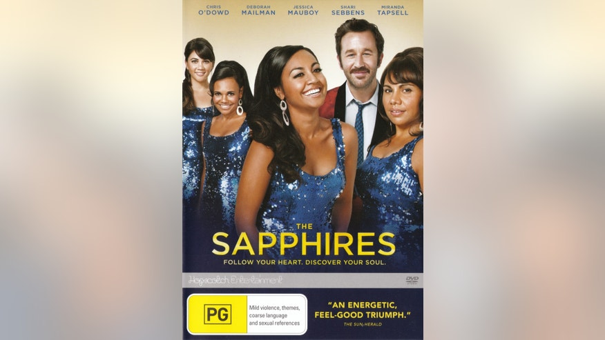 "This image is the DVD cover for the movie ""The Sapphires"" distributed by Australian company Hopscotch Entertainment."