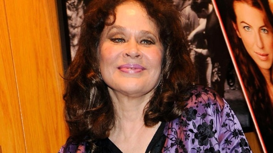 "Actress Karen Black, a cast member in ""Irene in Time,"" at the premiere of the film in Los Angeles."