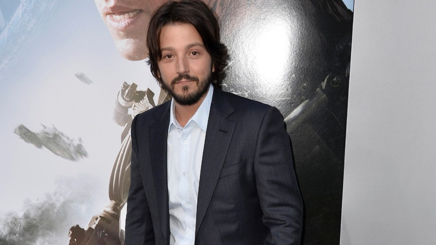 "Actor Diego Luna arrives at the premiere of TriStar Pictures' ""Elysium"" at Regency Village Theatre on August 7, 2013 in Westwood, California."