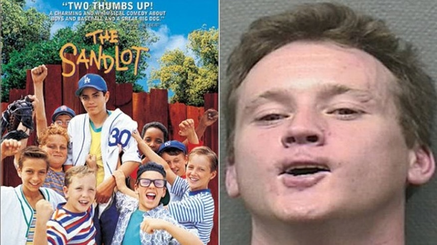 "One of the stars of ""The Sandlot"" Tom Guiry was arrested for allegedly headbutting a police officer."