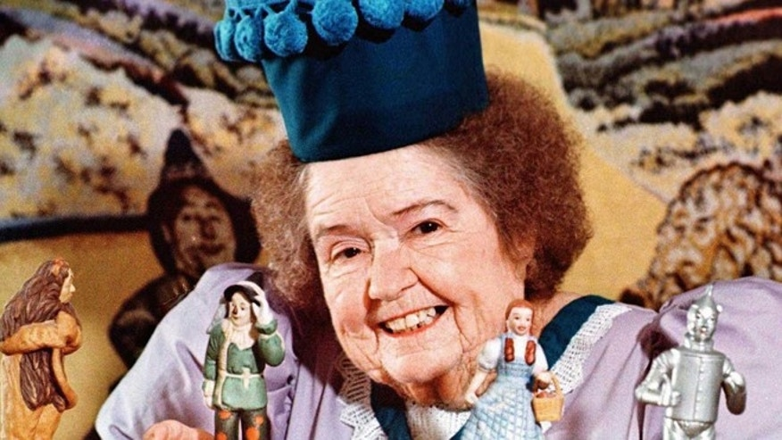 "Margaret Pellegrini, a cast member who played a Munchkin named Sleepy Head in the original ""The Wizard of Oz"" movie, is shown. Pellegrini suffered a stroke Monday, Aug. 5, 2013 at her Glendale, Ariz., home and died Wednesday, Aug. 7, 2013 at a Phoenix-area hospital. She was 89."