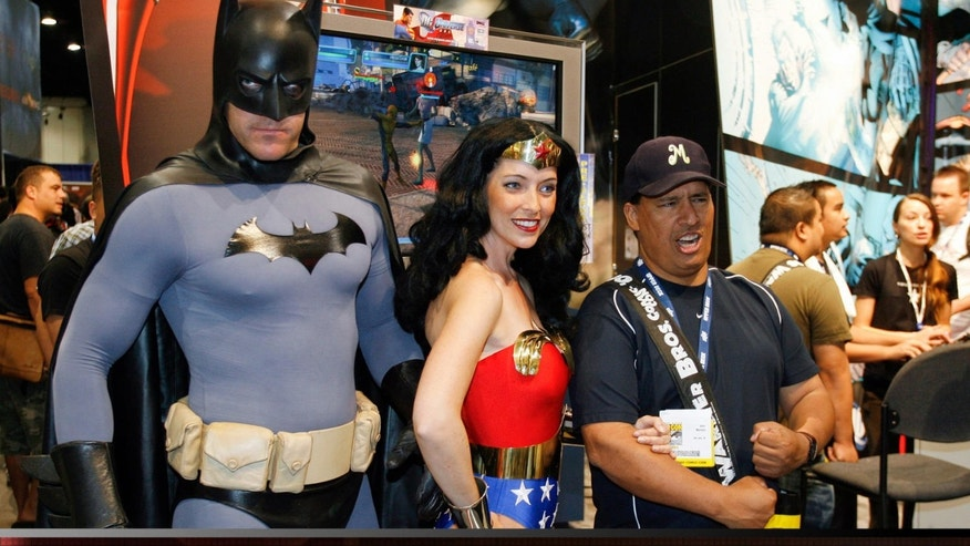 Wonder Woman is still a big draw at big super-hero events like Comic Con.