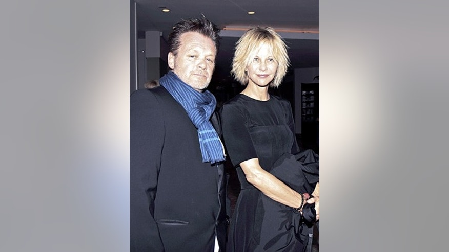 John Mellencamp is seen with Meg Ryan.