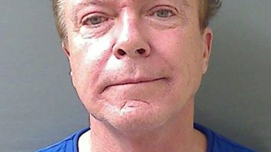 Aug. 21, 2013: This booking mug released by the Schodack (NY) Police Department shows actor-singer David Cassidy.