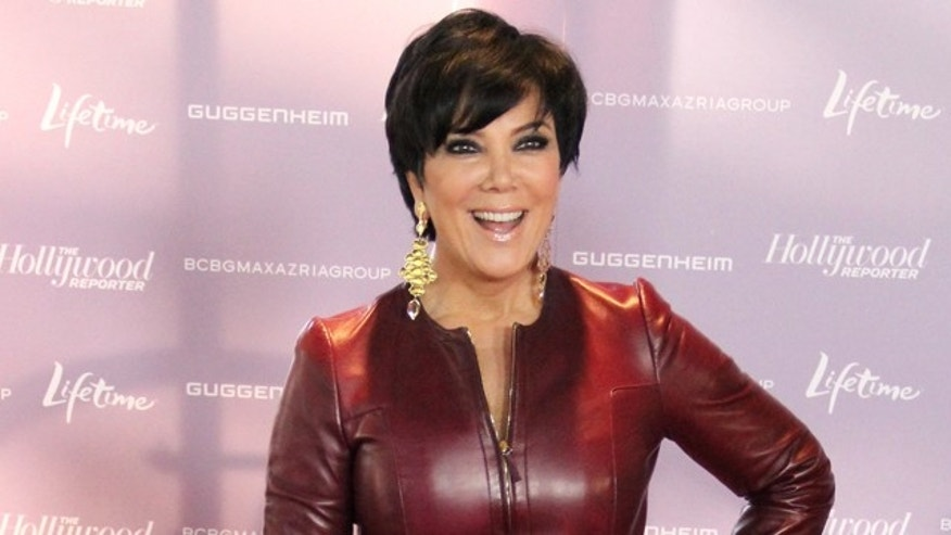Kris Jenner arrives at The Hollywood Reporter's Annual 'Power 100: Women In Entertainment Breakfast' at The Beverly Hills Hotel in Beverly Hills, CA on December 7, 2011. X17online.com