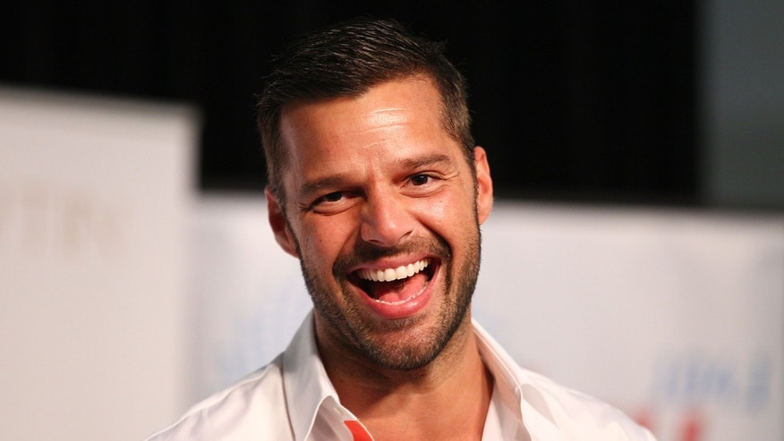SYDNEY, AUSTRALIA - MAY 09:  Ricky Martin during a promotion for his Greatest hits release at Westfield Paramatta on May 9, 2013 in Sydney, Australia.  (Photo by Marianna Massey/Getty Images)