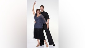 """DANCING WITH THE STARS - VALERIE HARPER & TRISTAN MACMANUS -  Valerie Harper partners with Tristan Macmanus.  """"Dancing with the Stars"""" returns for Season 17 on MONDAY, SEPTEMBER 16 (8:00-10:01 p.m., ET), on the ABC Television Network. (ABC/Craig Sjodin)"""