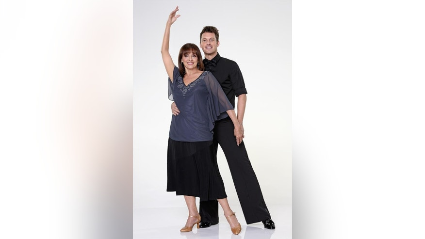 "Valerie Harper partners with Tristan Macmanus.  ""Dancing with the Stars"" returns for Season 17 on Sept. 16, 2013 on the ABC Television Network."