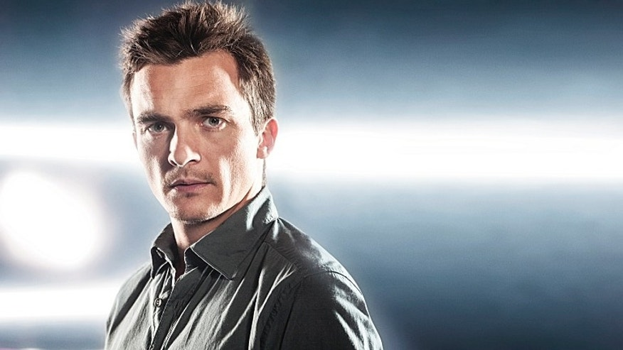 "Rupert Friend as Peter Quinn in ""Homeland."""