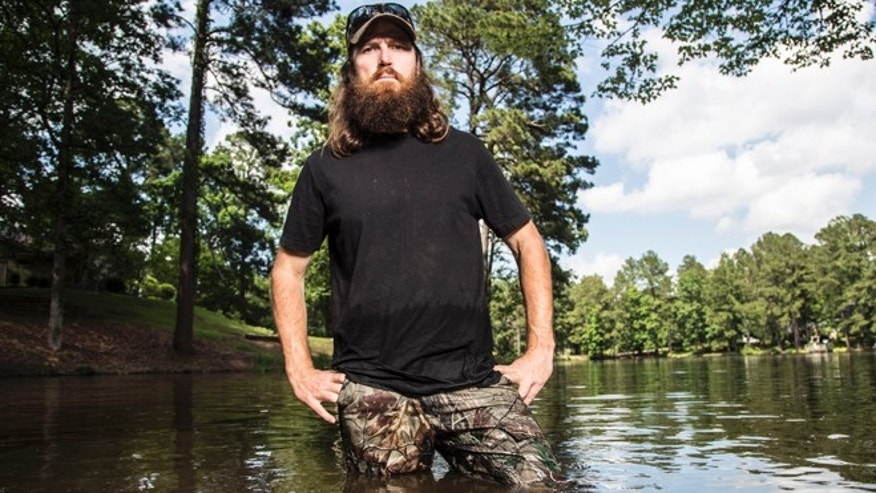 Jase Robertson in A&E's 'Duck Dynasty.'