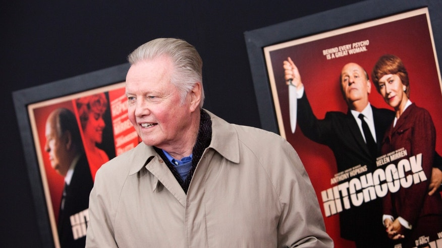 "Actor Jon Voight attends the film premiere of ""Hitchcock"" in New York November 18, 2012."