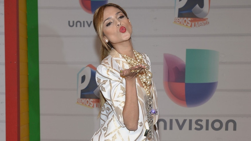 Eiza Gonzalez attends the Premios Juventud at Bank United Center on July 18, 2013 in Miami, Florida.