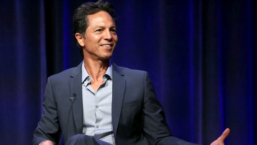 Benjamin Bratt during the 'Latino Americans' panel discussion on August 7, 2013 in Beverly Hills, California.