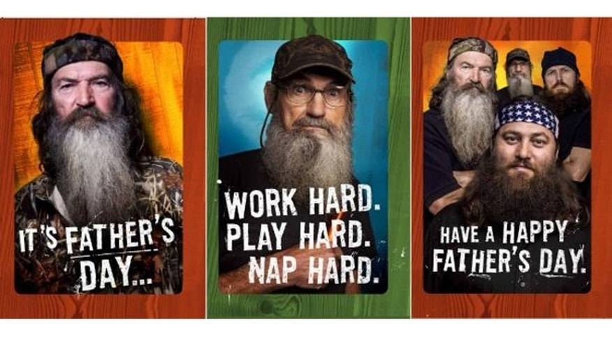 """Duck Dynasty"" cards hit Walmart stores on June 3."