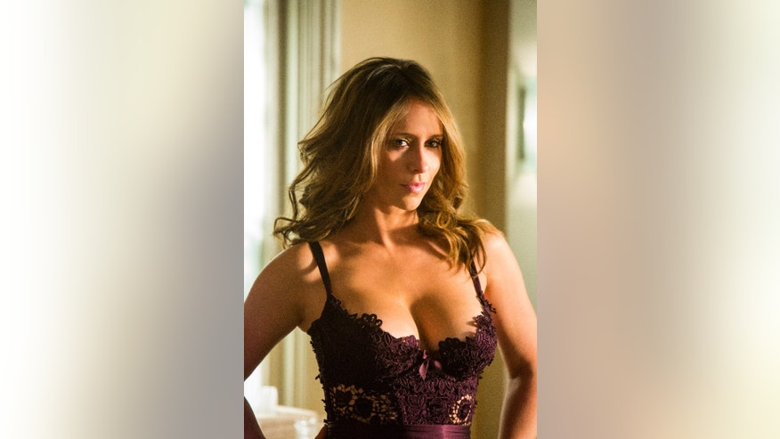 "Jennifer Love Hewitt stars as ""Riley Parks"" in Lifetime's racy series ""The Client List."""